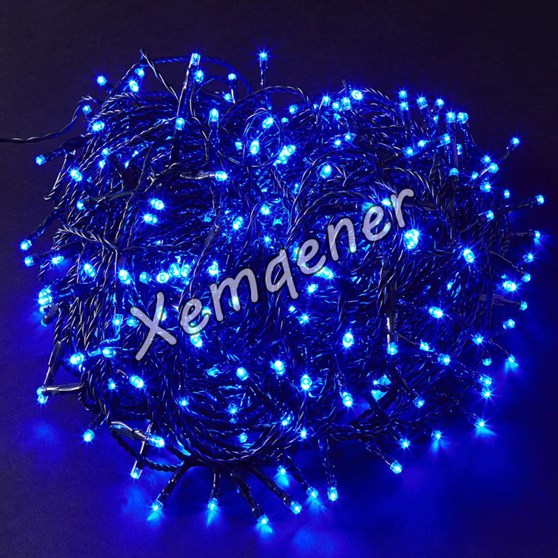 Indoor Outdoor Battery Operated 8 Action Timer 300LED Christmas Tree Fairy Li