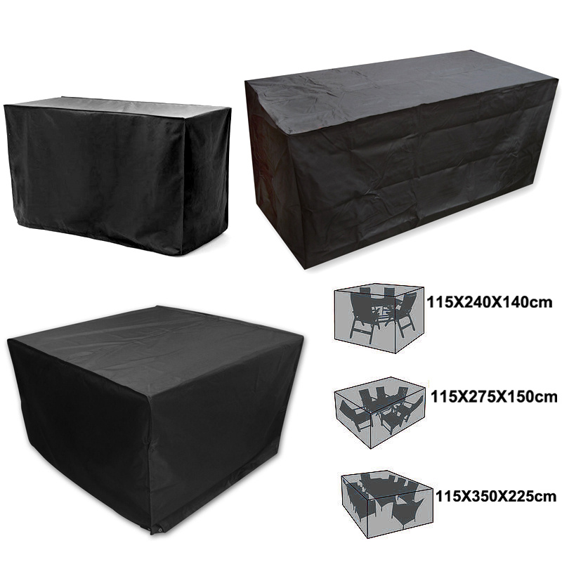 6 Size Garden Patio Furniture Set Heavy Duty Rain Shelter Table Protector Cov